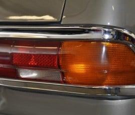 Mercedes poliert