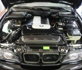 Motorwäsche BMW